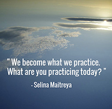 We Become What We Practice